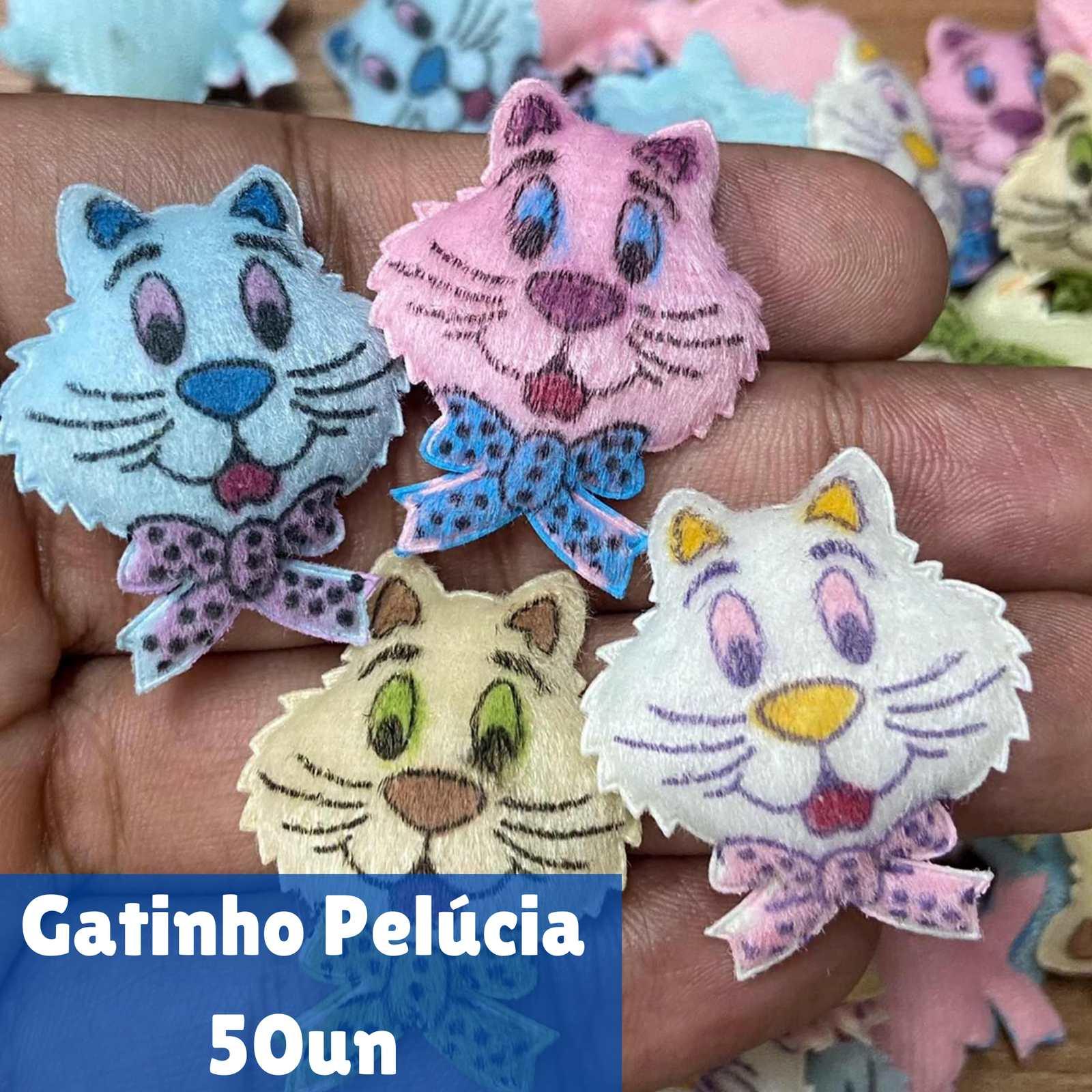 Gatinho Pelúcia - 50 unidades