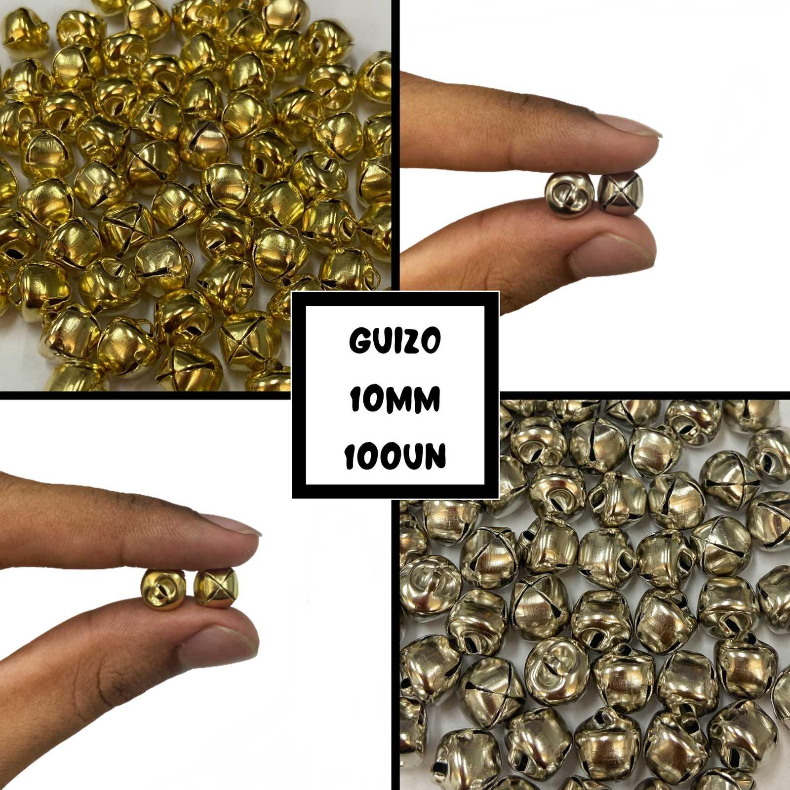 Guizo 10mm - 100 pçs