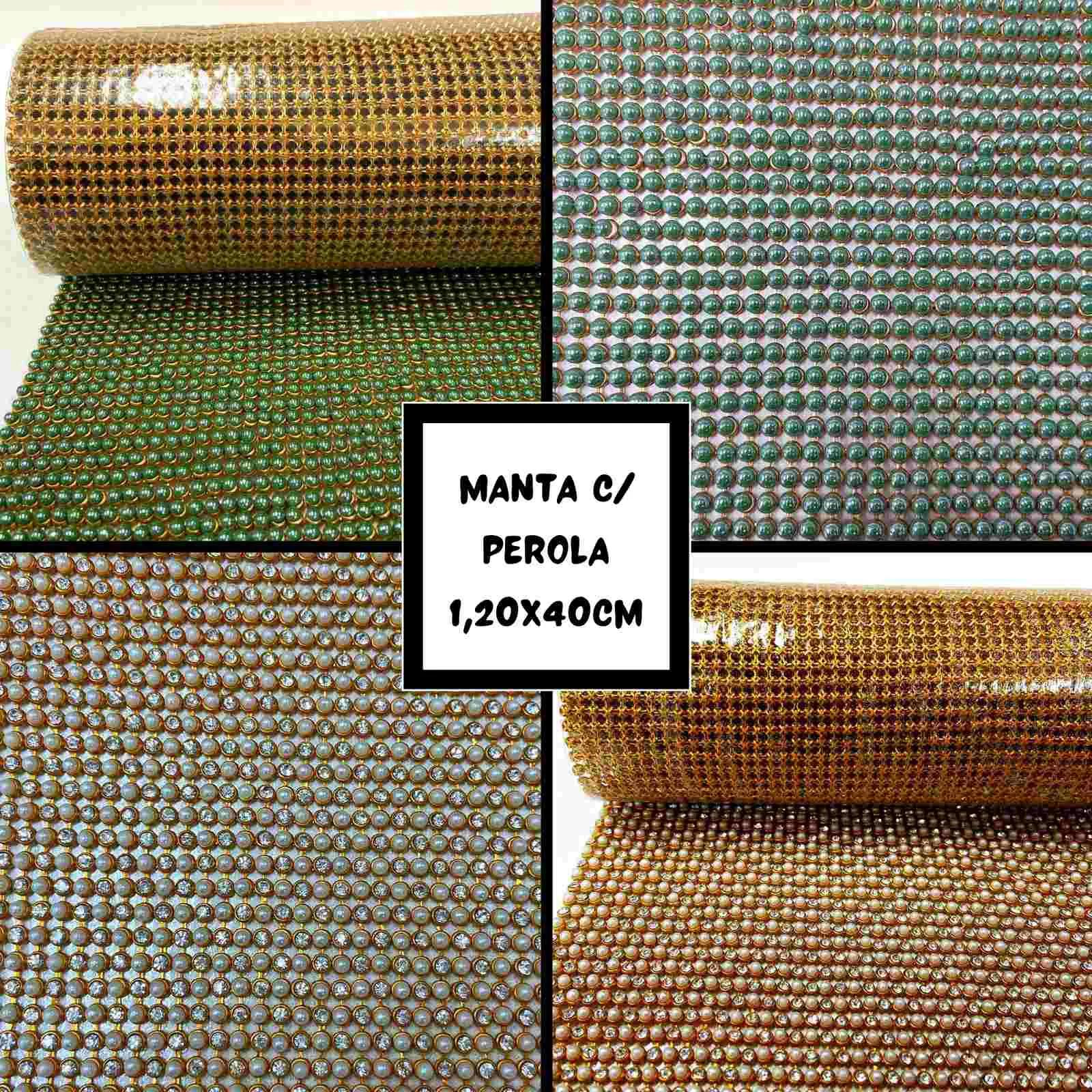 Manta C/Pérola 0,45x1,20