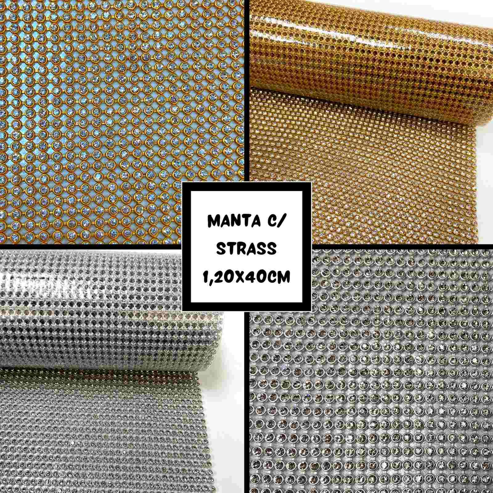 Manta com Strass 0,45x1,20