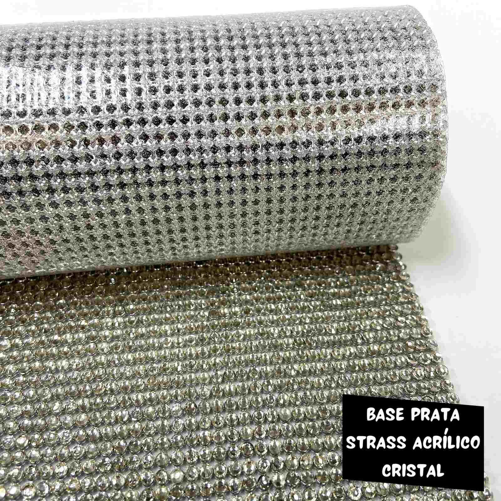 Manta com Strass Acrílico 0,45x1,20