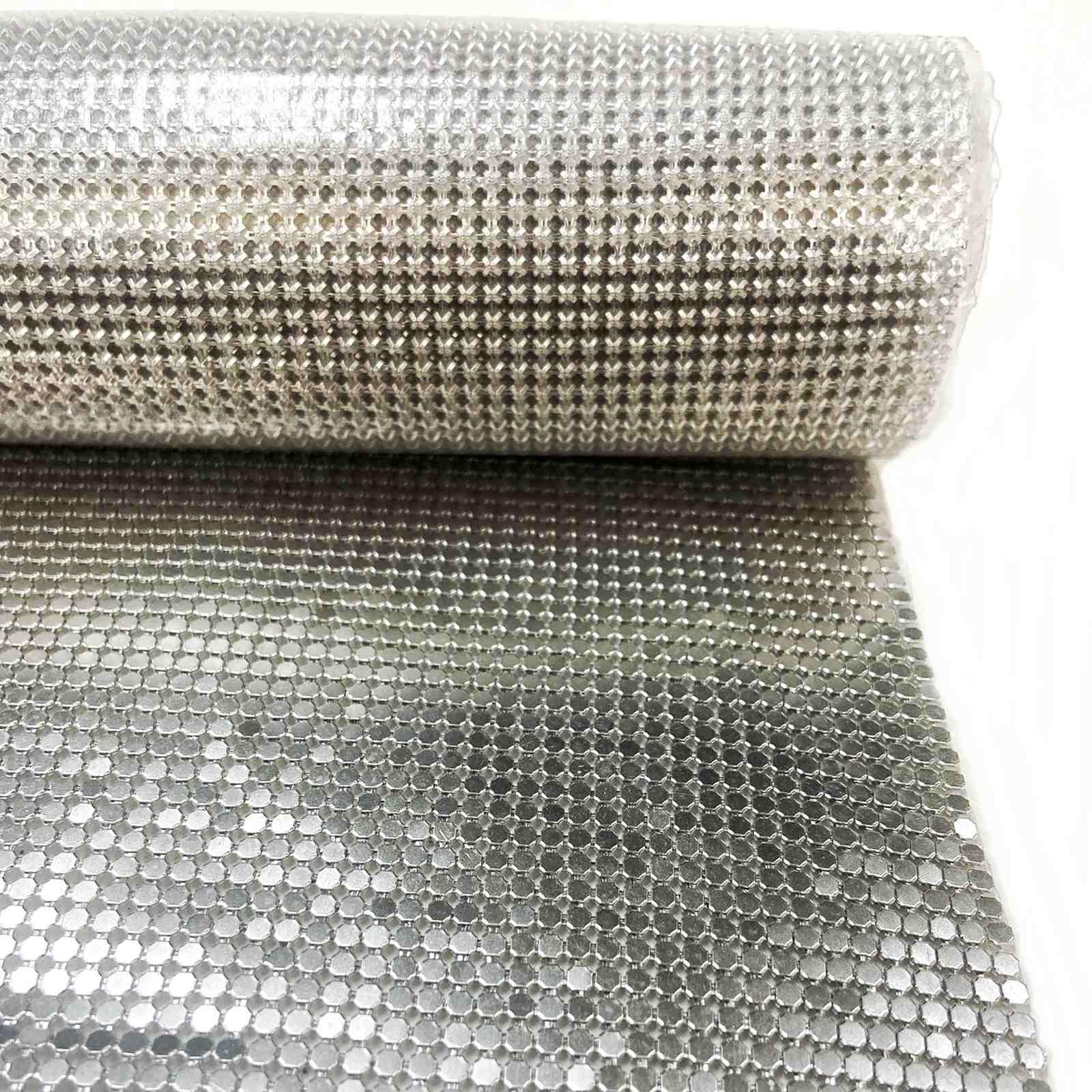 Manta Flex 2x2mm (1,60m x 50cm) - Níquel (Base de Silicone)
