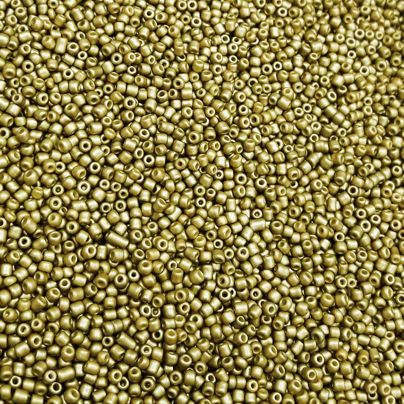 Miçanga 12/0 Metalizada - 500g