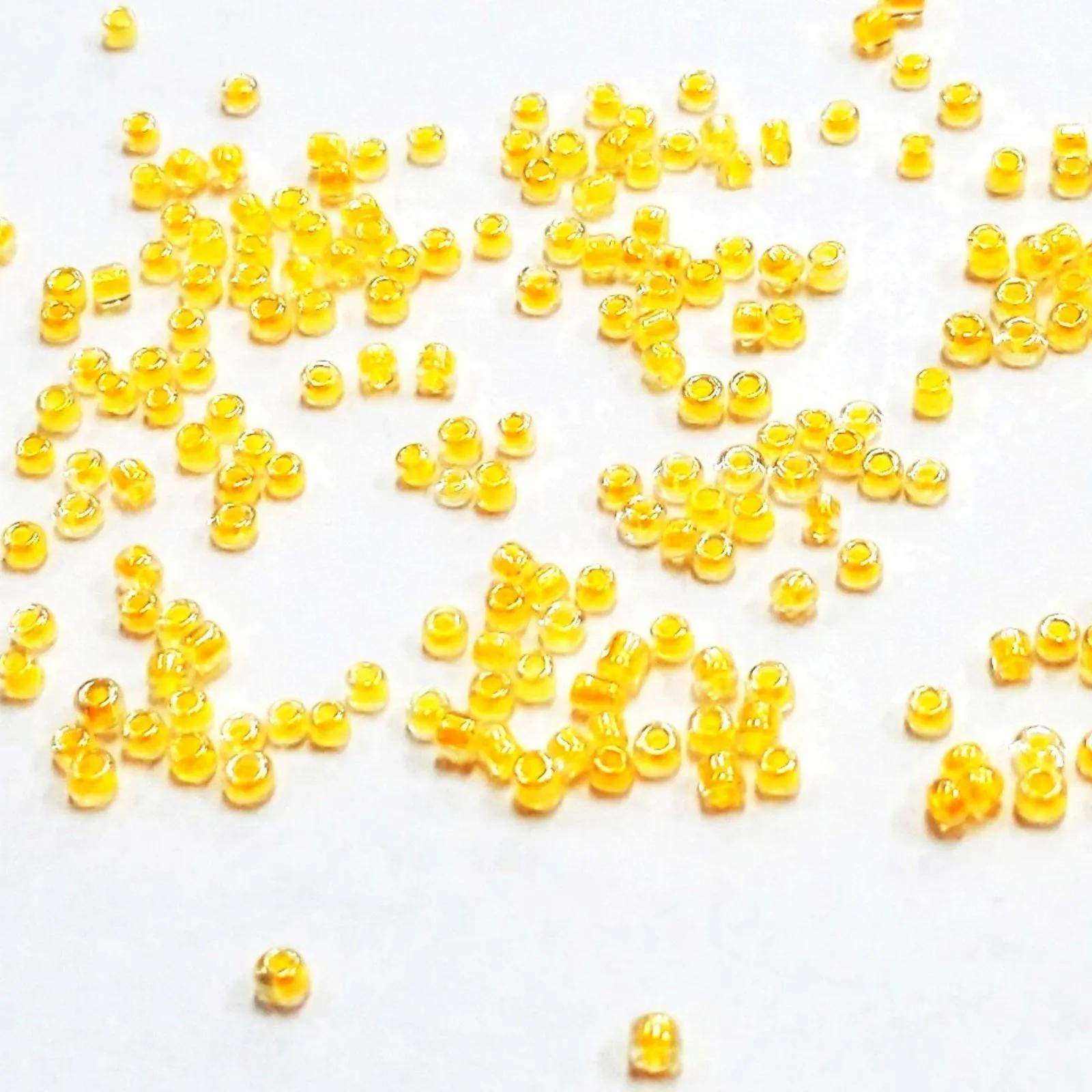 Miçanga 12/0 Miolo Pintado Lustrosa - 500g
