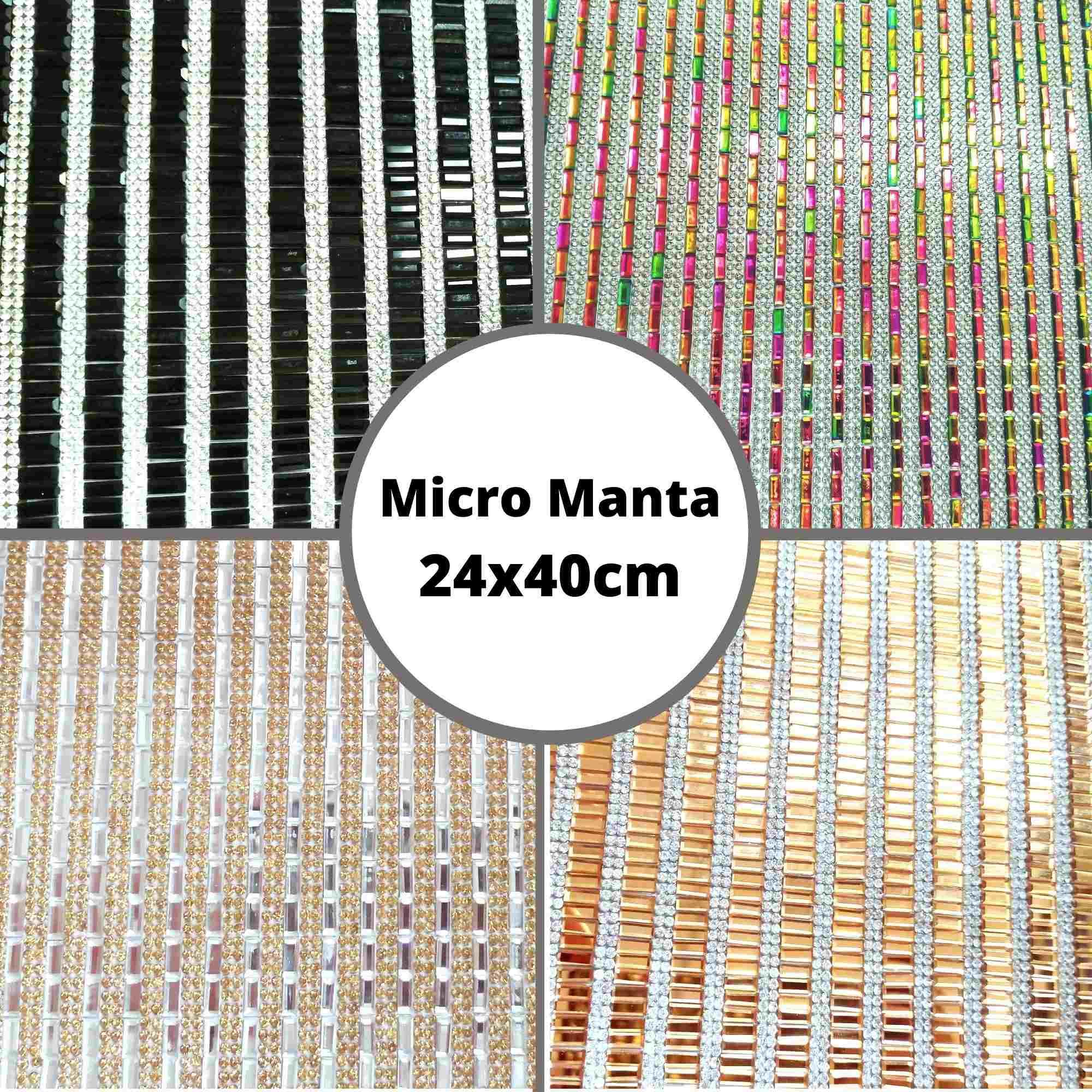 Micro Manta Palito - Tamanho 24x40cm - 1 unidade