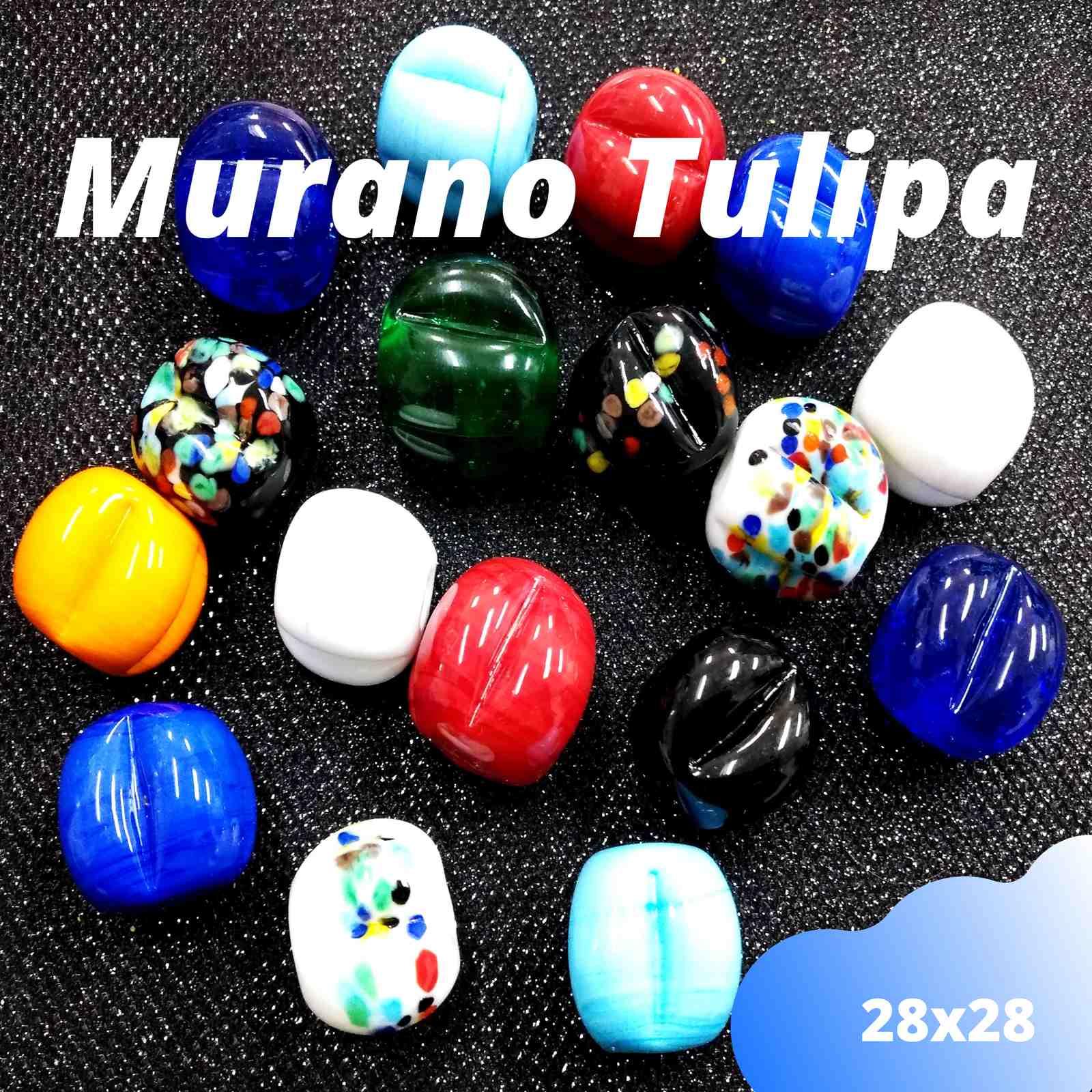 Murano Tulipa 28x28
