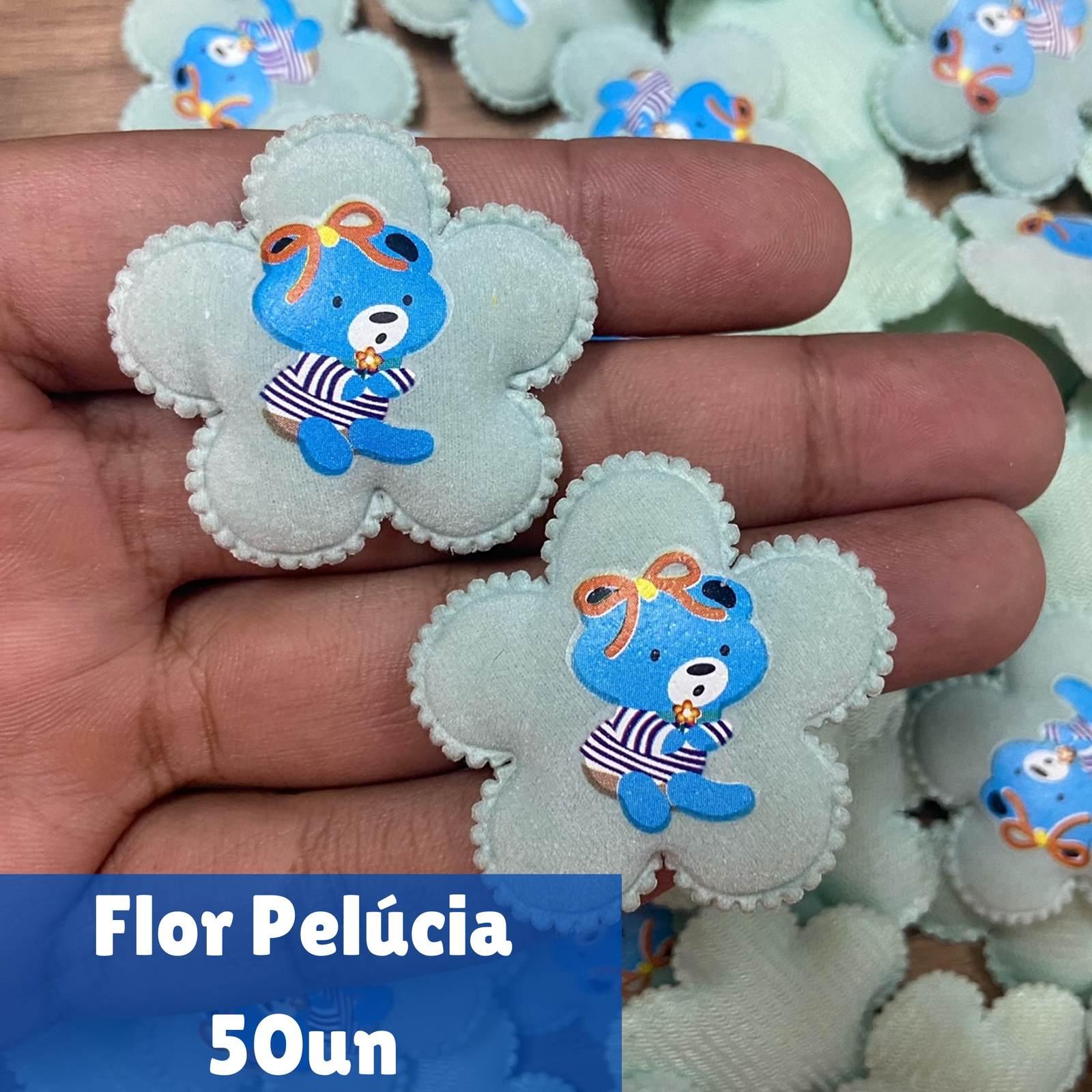 Pelúcia Flor (ursinho central) - 50 un