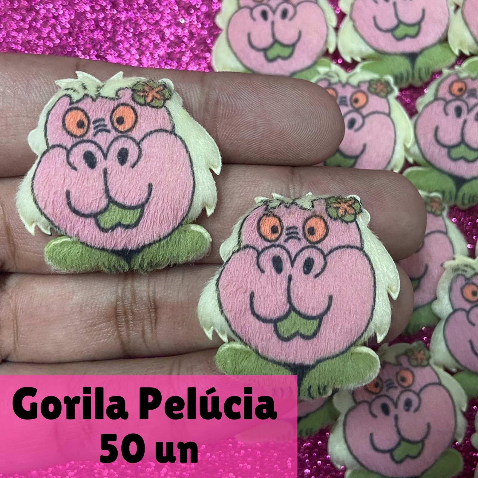 Pelúcia Gorila - 50 unid