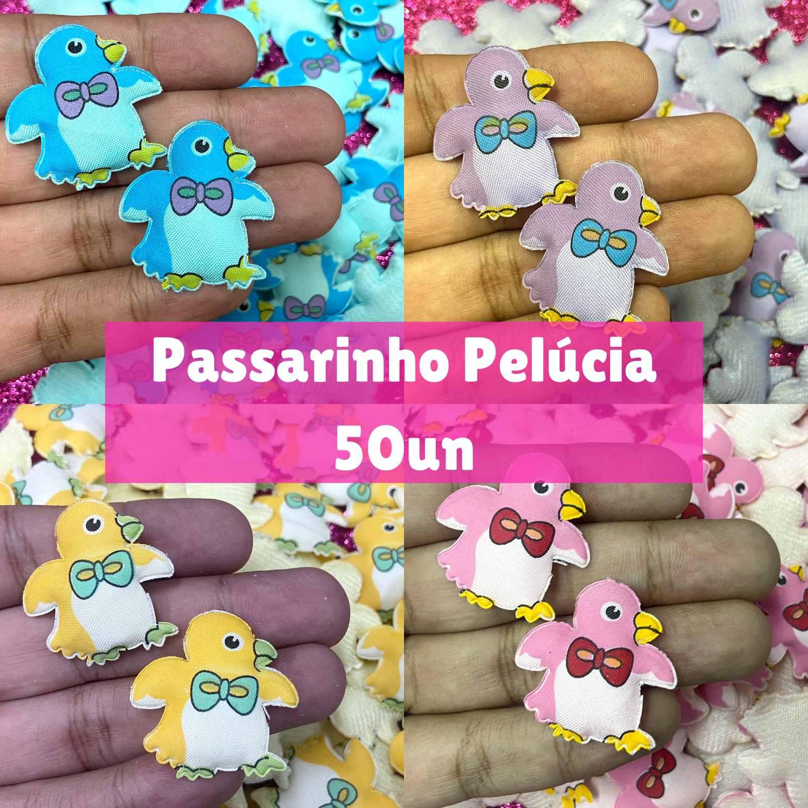 Pelúcia Passarinho - 50 unidades