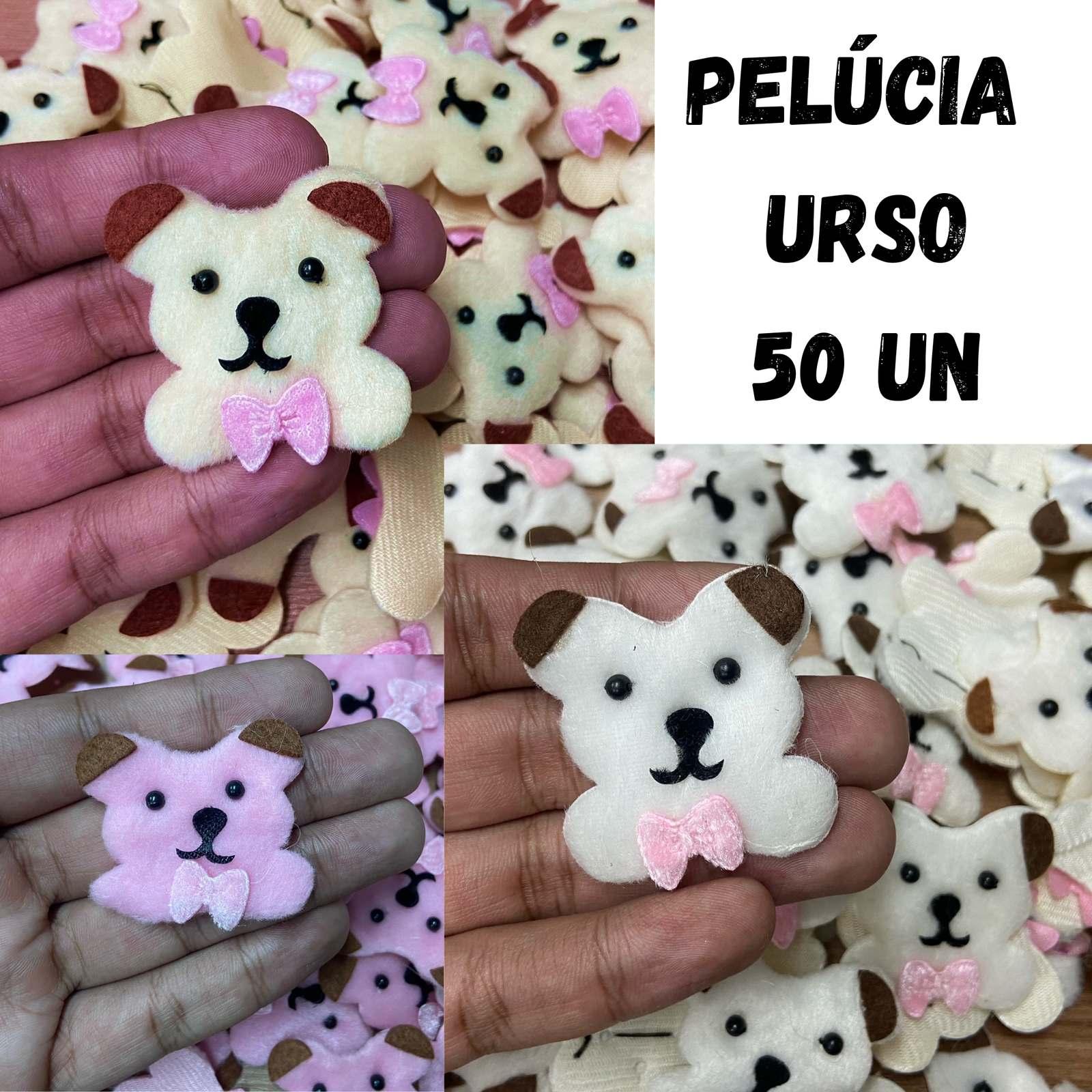 Pelúcia Urso - 50 unidades