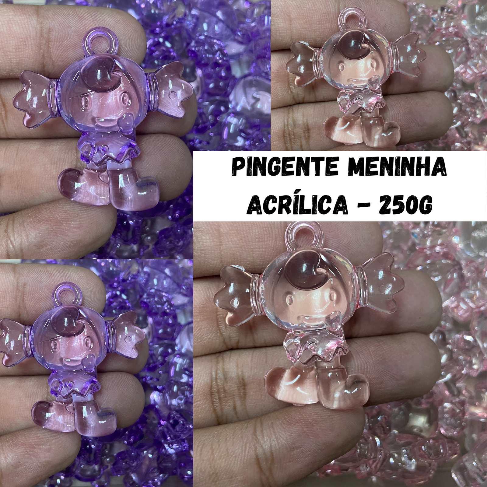 Pingente Acrílico Menininha - 250g