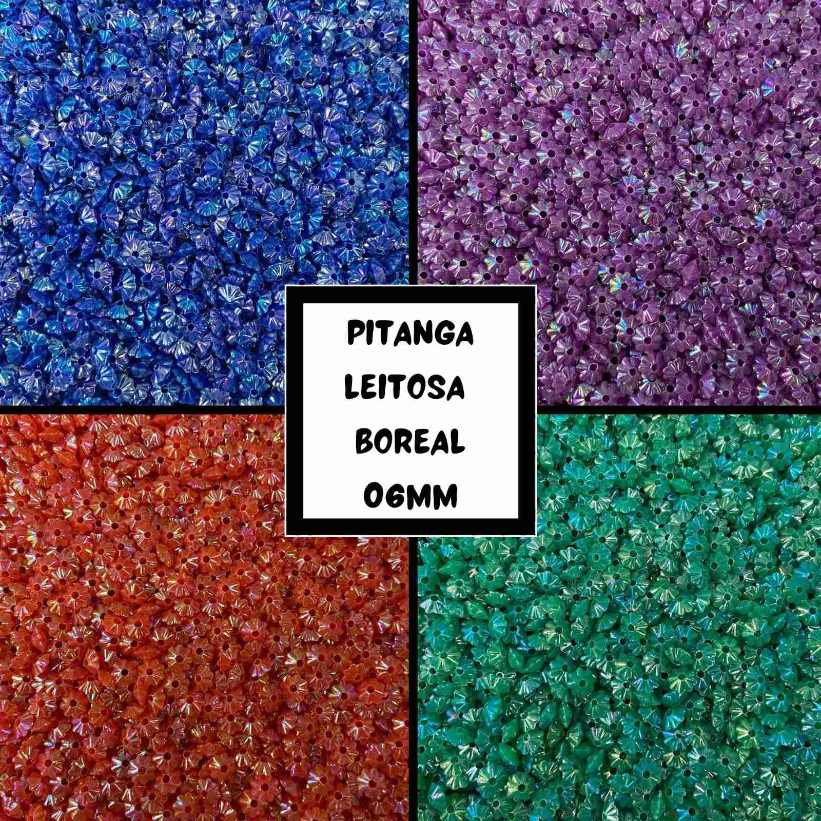 Pitanga 06mm Leitosa Boreal - 500g
