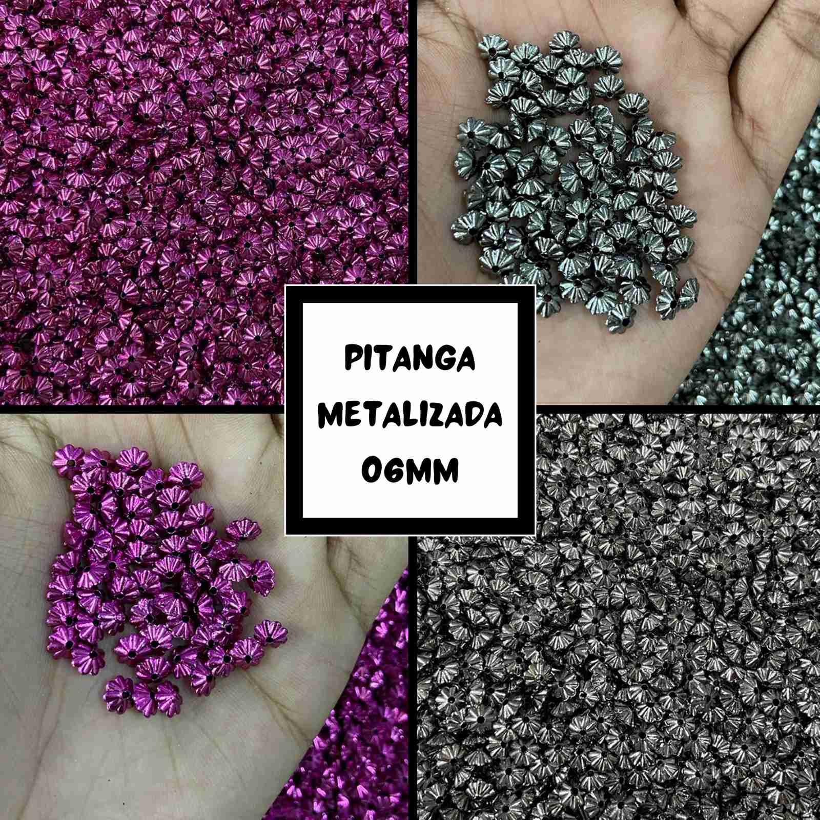 Pitanga Metalizada 06mm - 500g