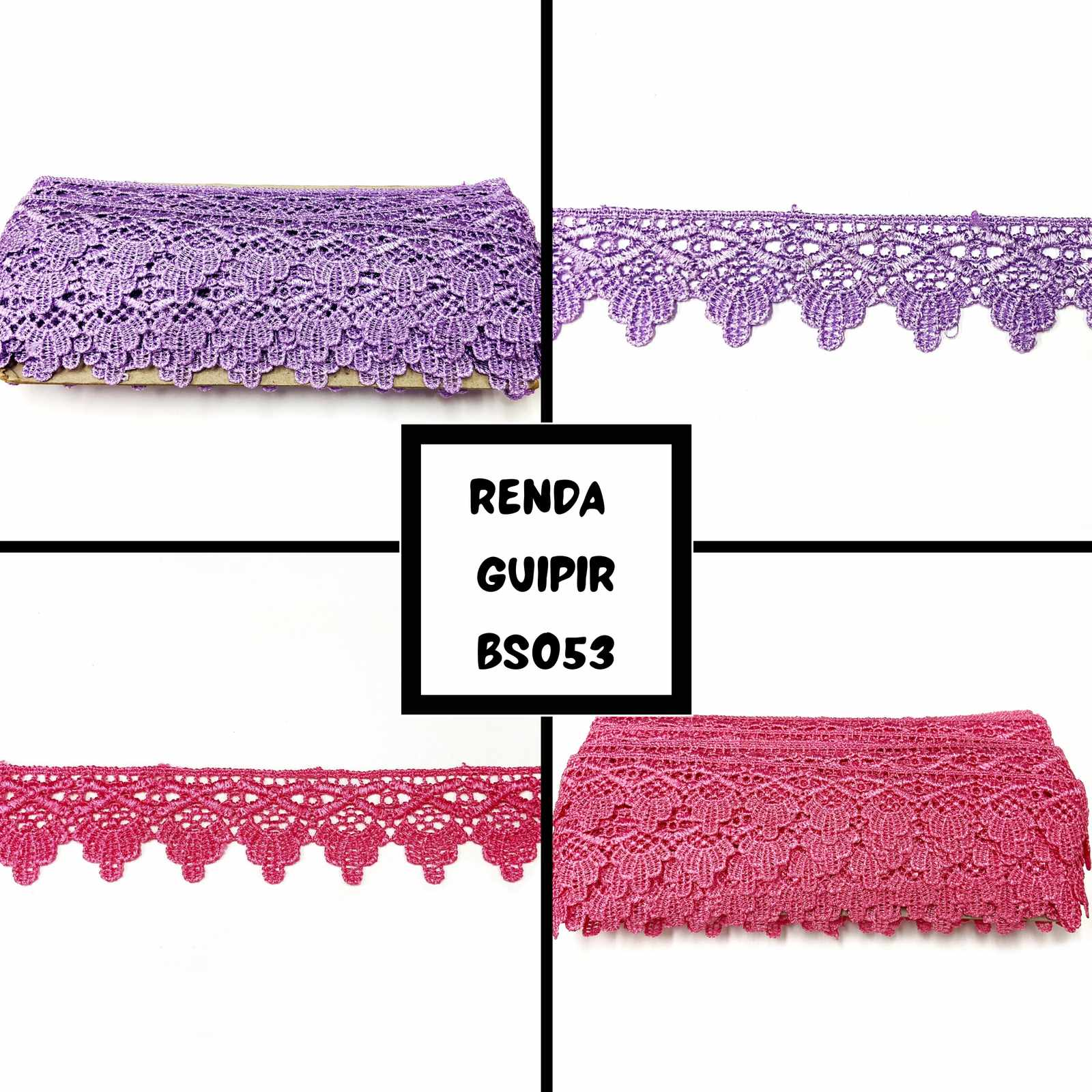 Renda Guipir BS053 - 13,70mts