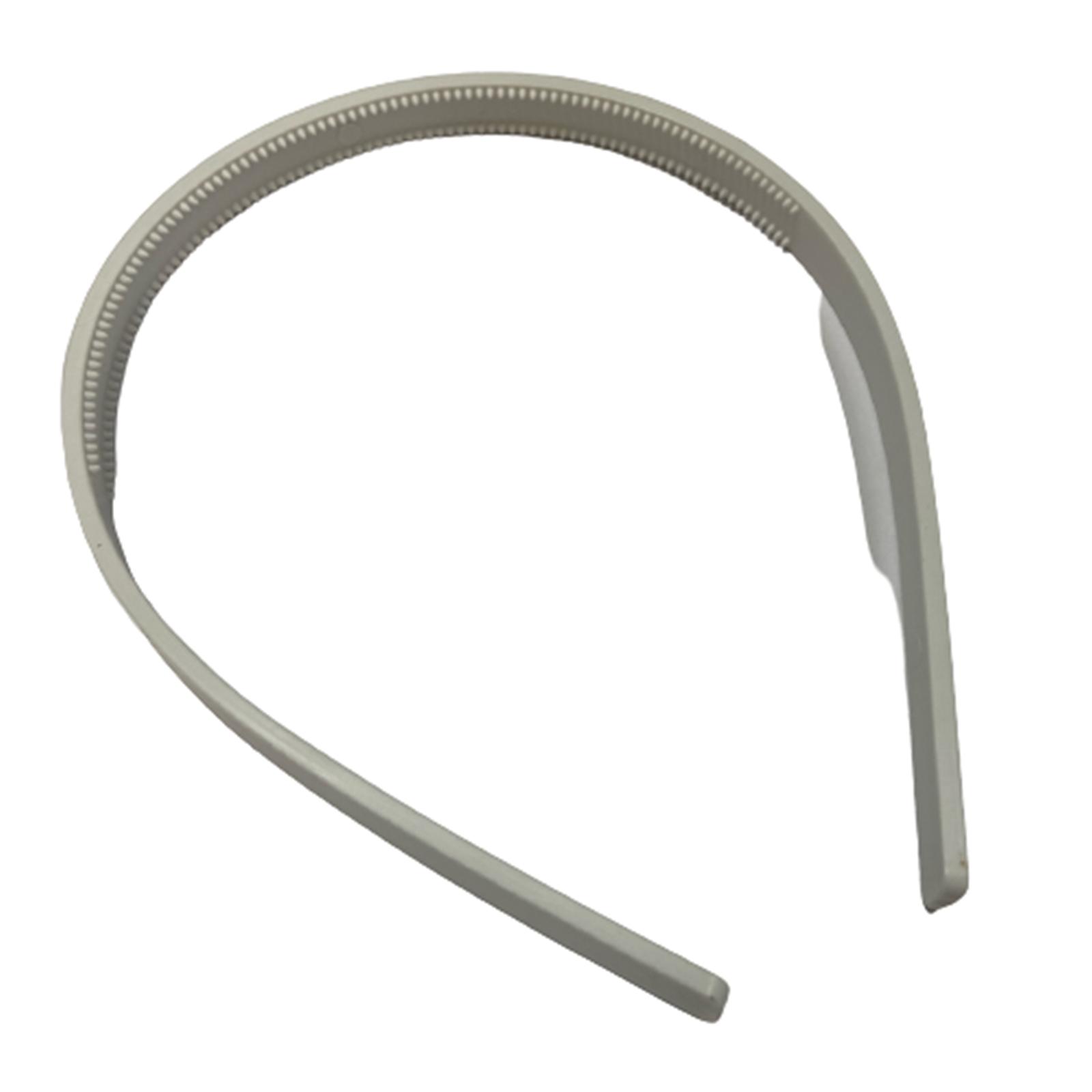 Tiara Plástica Fina com dente - 12 unidades
