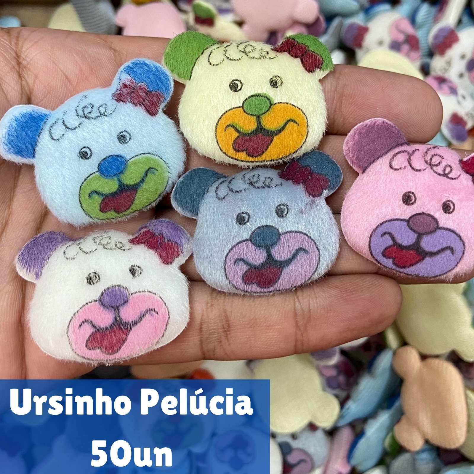 Ursinho Pelúcia - 50 unidades