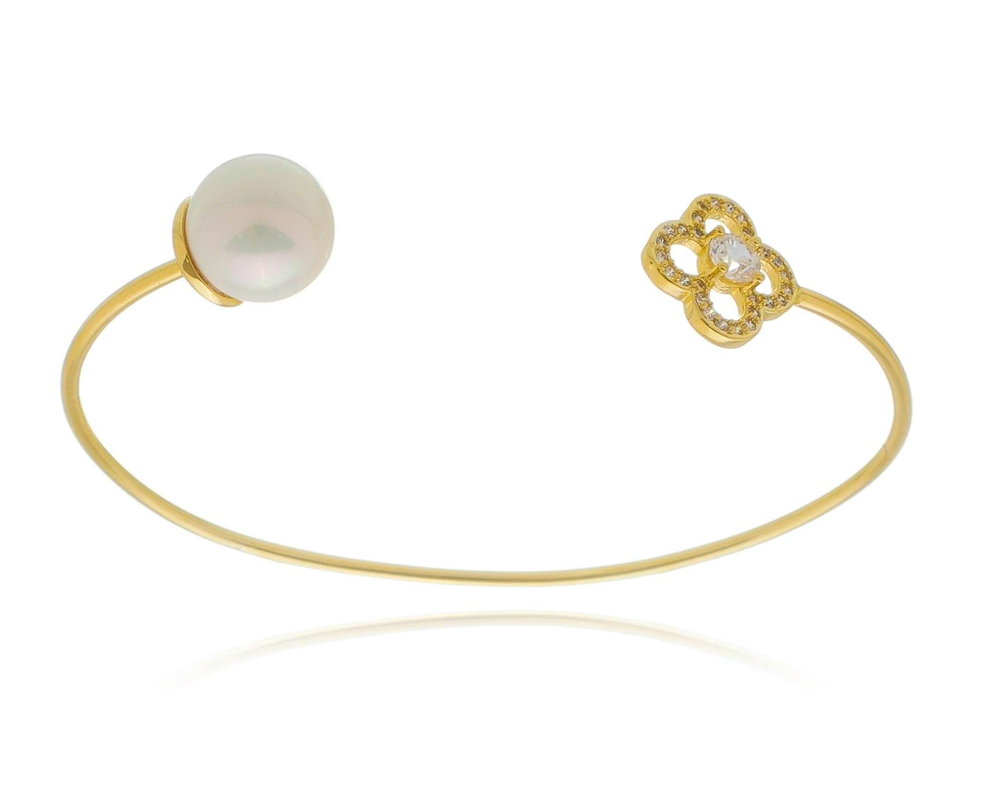 Bracelete Pérola Ouro