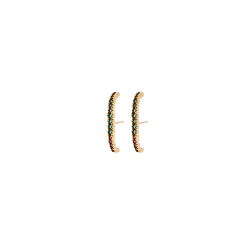 Brinco Ear hook Colors Ouro