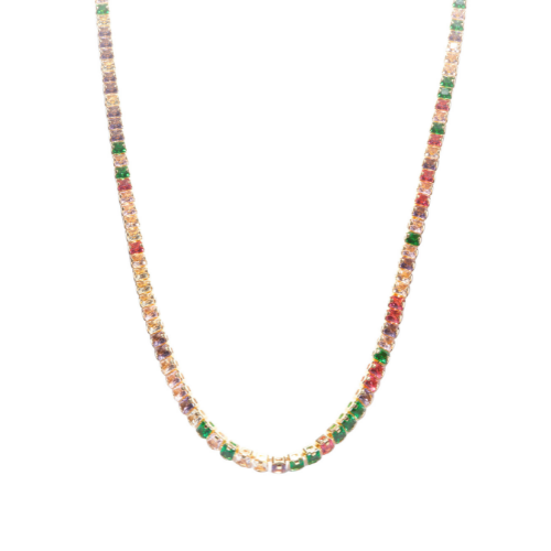 Chocker Riviera Colors Ouro