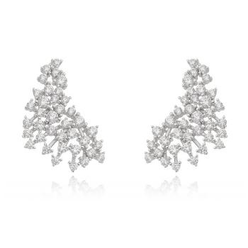 Ear Cuff Cravejado Prata 925 | Otávio Giora Shop