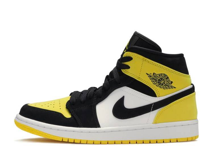 Air Jordan 1 Mid SE 'Yellow Toe