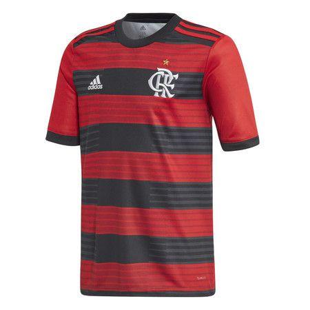 Camisa Adidas Flamengo Home 2018 - Preto/Vermelho
