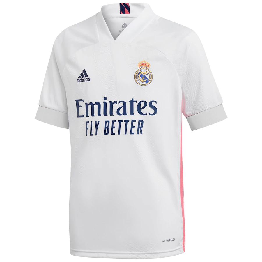 Decisión Prisionero de guerra Decorativo  Camisa Adidas Real Madrid 2020/2021 - SportsMen | Sua Loja Esportiva! 50%  OFF