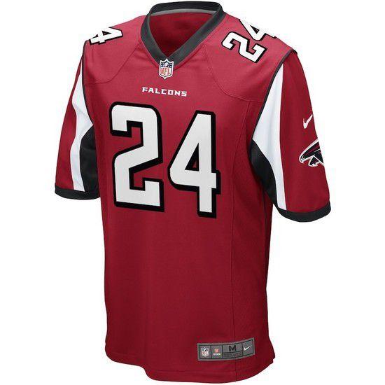 Camisa Futebol Americano Nike Atlanta Falcons - Vermelho/Branco