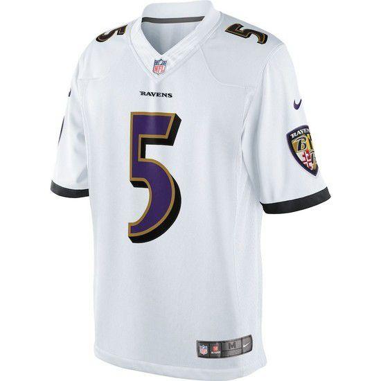 Camisa Futebol Americano Nike Baltimore Ravens - Branco