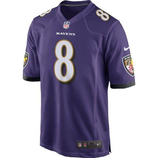Camisa Futebol Americano Nike Baltimore Ravens - Roxo/Branco