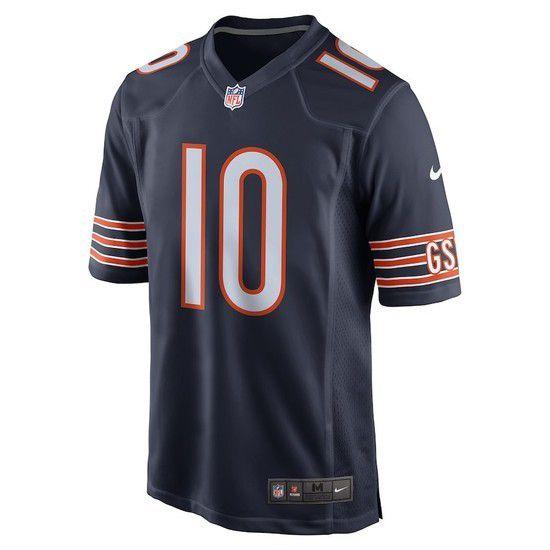 Camisa Futebol Americano Nike Chicago Bears - Azul/Laranja