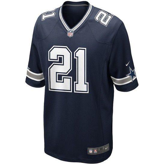 Camisa Futebol Americano Nike Dallas Cowboys - Azul/Branco