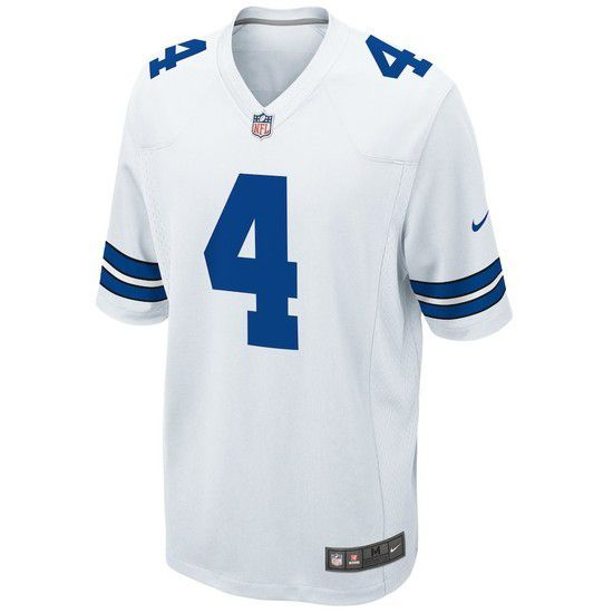 Camisa Futebol Americano Nike Dallas Cowboys - Branco/Azul