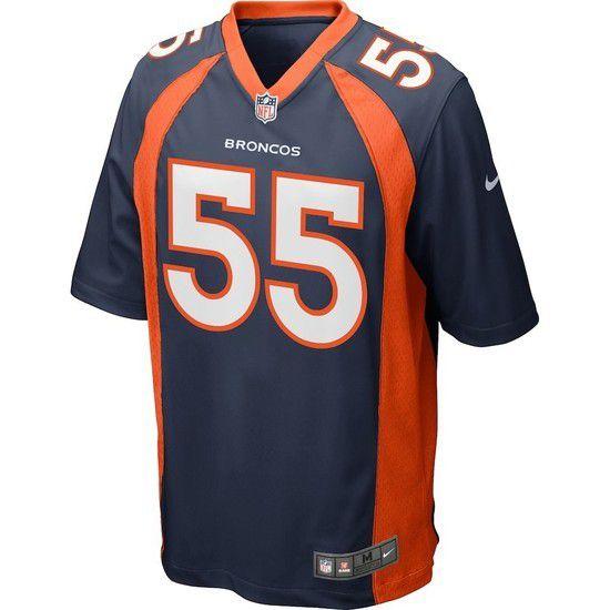 Camisa Futebol Americano Nike Denver Broncos - Azul/Laranja