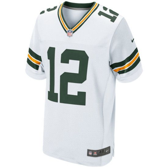 Camisa Futebol Americano Nike Green Bay Packers - Branco/Verde