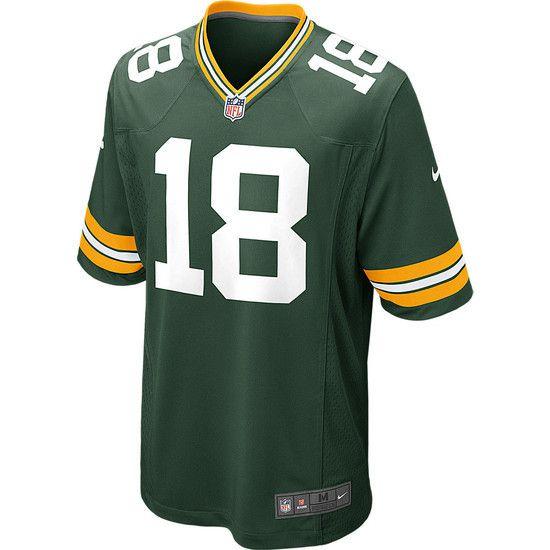 Camisa Futebol Americano Nike Green Bay Packers - Verde/Amarelo