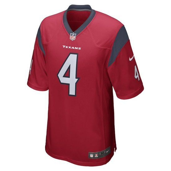 Camisa Futebol Americano Nike Houston Texans - Vermelho/Branco