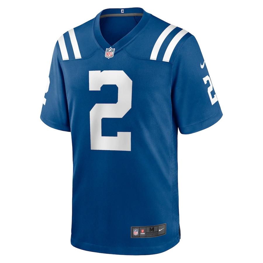 Camisa Futebol Americano Nike Indianapolis Colts - Azul/Branco
