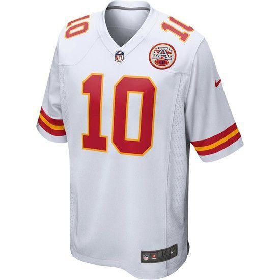Camisa Futebol Americano Nike Kansas City Chiefs - Branco/Vermelho