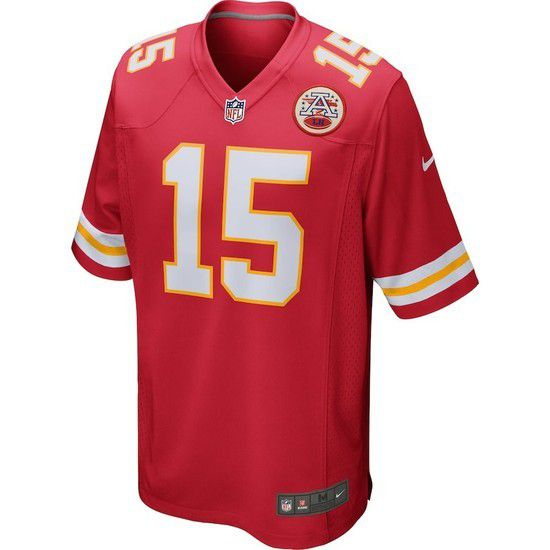 Camisa Futebol Americano Nike Kansas City Chiefs - Vermelho/Branco