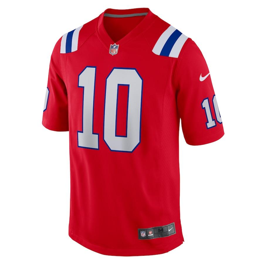Camisa Futebol Americano Nike New England Patriots - Vermelho