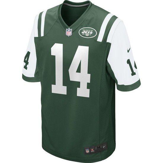 Camisa Futebol Americano Nike New York Jets - Verde/Branco
