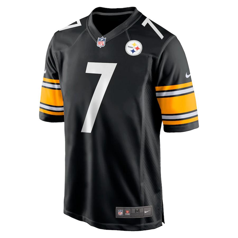 Camisa Futebol Americano Nike Pittsburgh Steelers - Preto/Amarelo