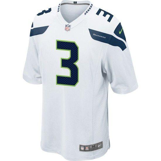 Camisa Futebol Americano Nike Seattle Seahawks - Branco/Azul