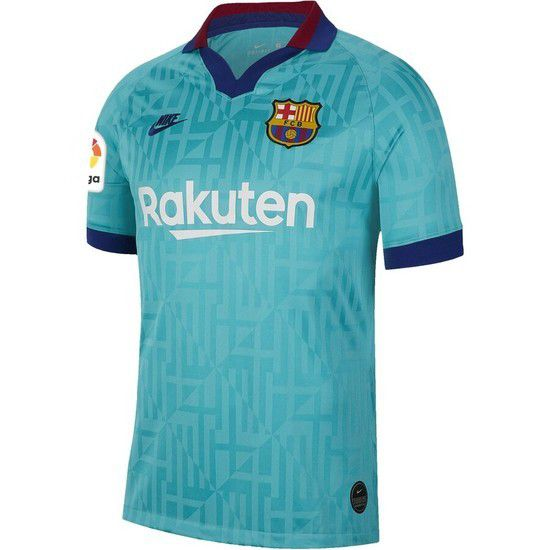 Camisa Nike Barcelona 3 2019/2020 - Azul