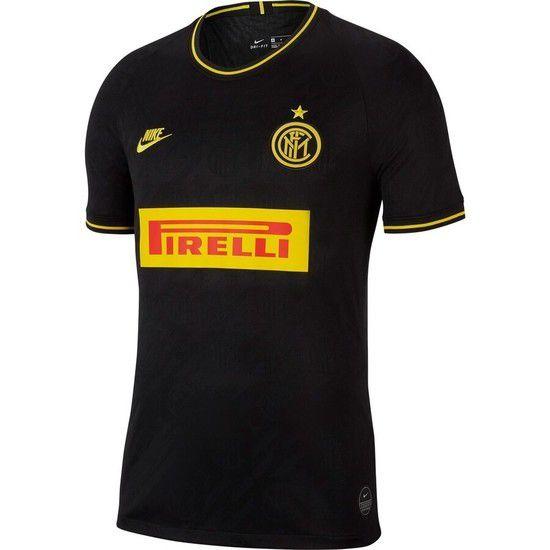 Camisa Nike Inter de Milão 3 2019/2020 - Preto/Dourado