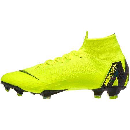 Chuteira Nike Mercurial Superfly 360 Elite Campo CL - Verde/Preto