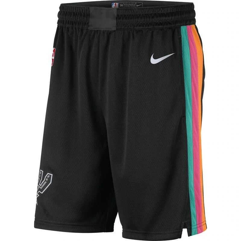 Short Nike San Antonio Spurs City Edition 2020/21 Swingman Masculino
