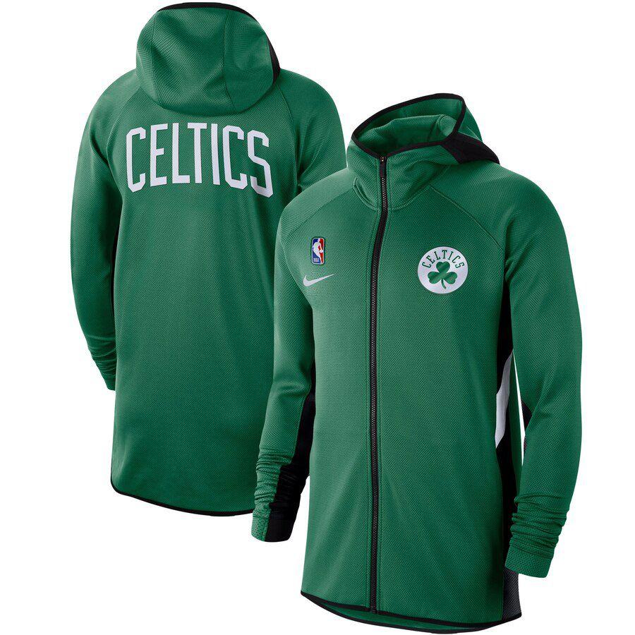 Jaqueta Nike Boston Celtics Authentic Showtime Therma Flex