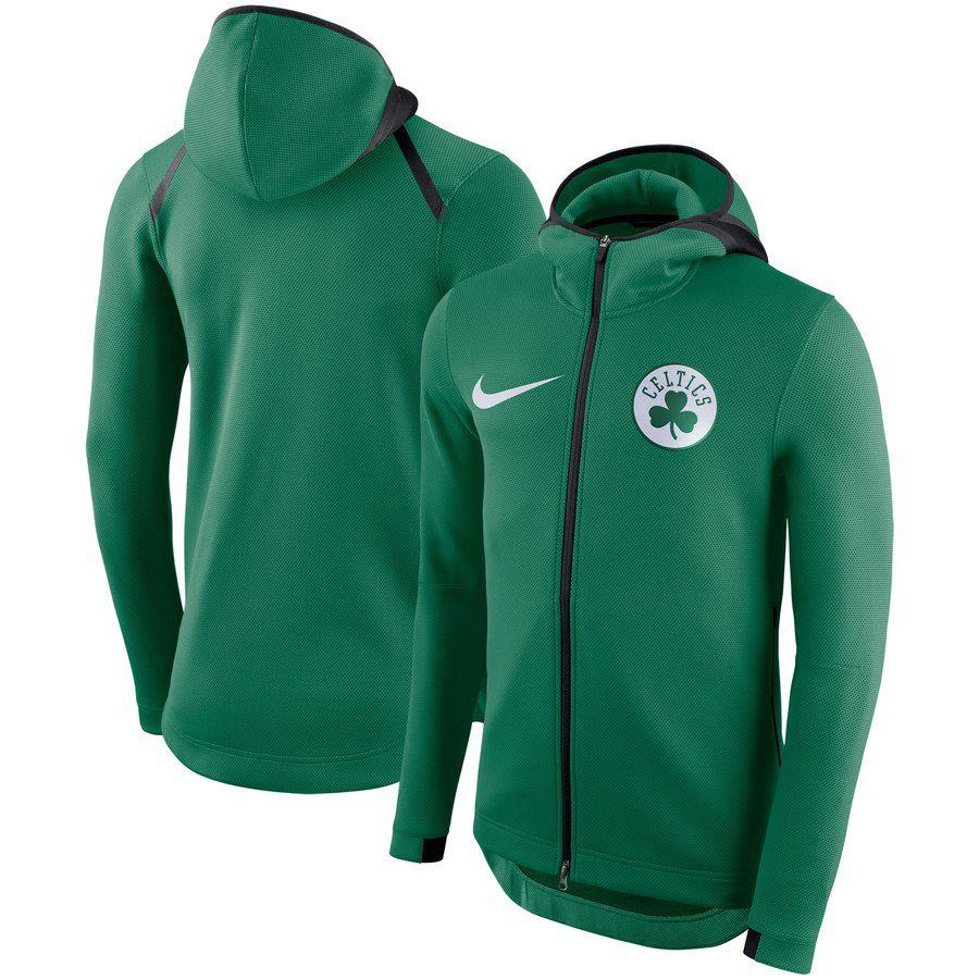 Jaqueta Nike Boston Celtics Showtime Therma Flex